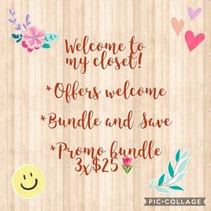 Offers Welcome & Bundle and save